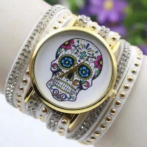 💀Tween Skull Wrap Watch💀